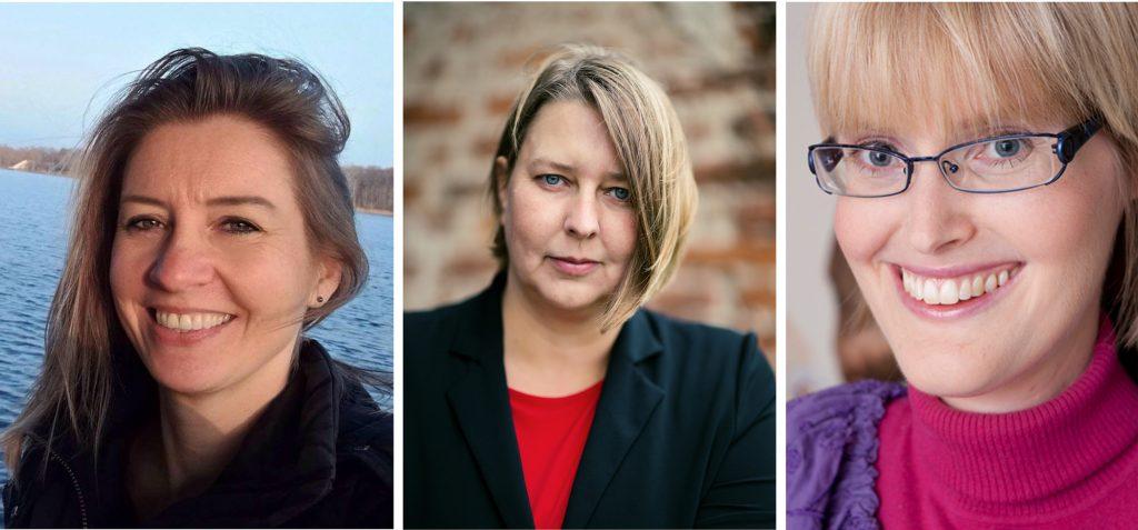 Auteur Linda Amendt, Suzanne Wouda, Bianca Mastenbroek